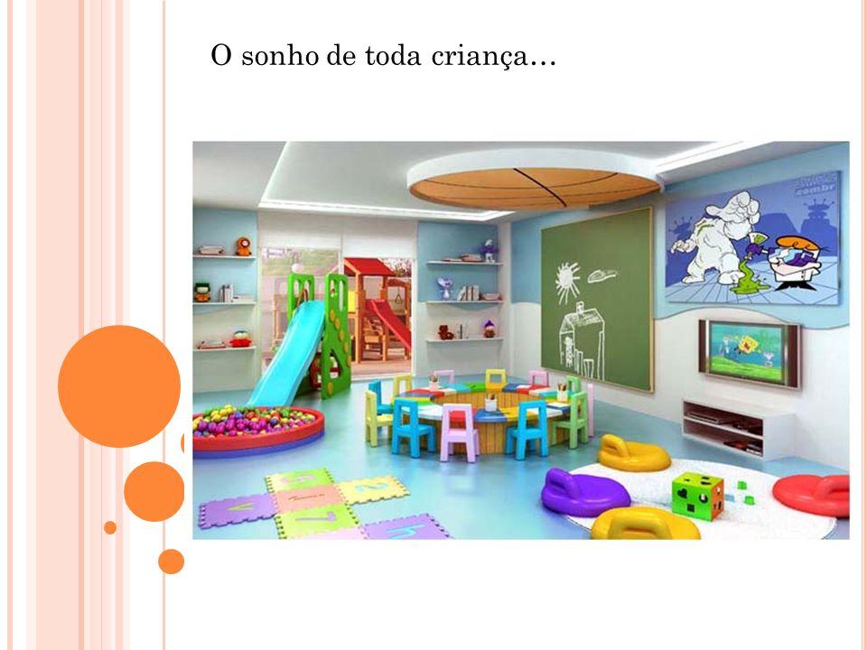 O sonho de toda criança…