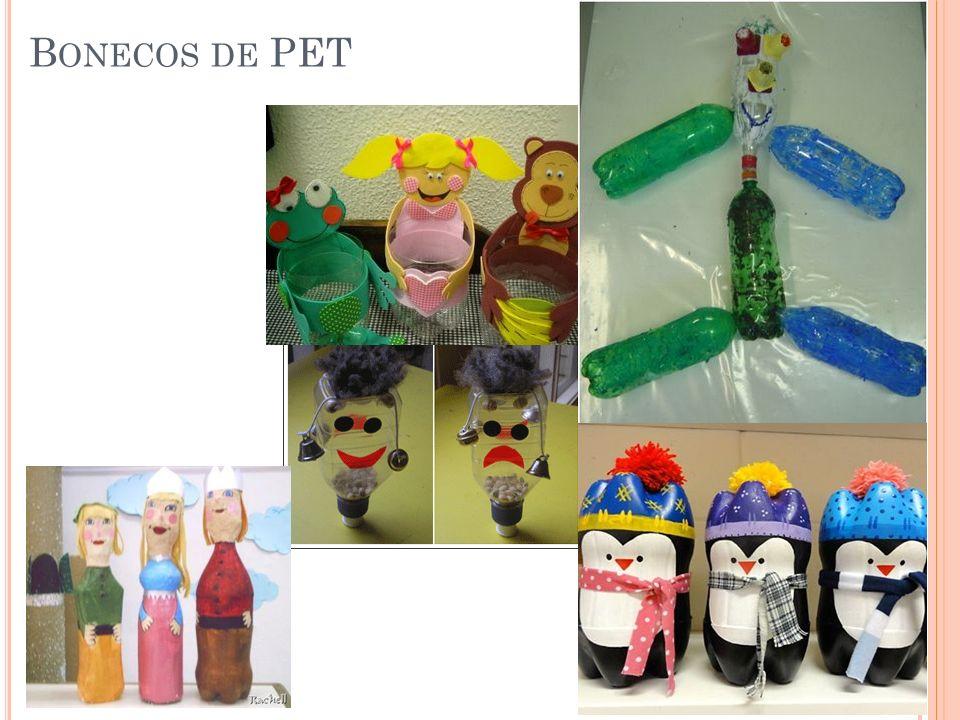 Bonecos de PET