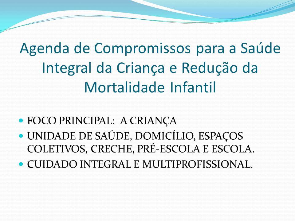 Agenda de Compromissos para a Saúde Integral da Criança e Redução da Mortalidade Infantil