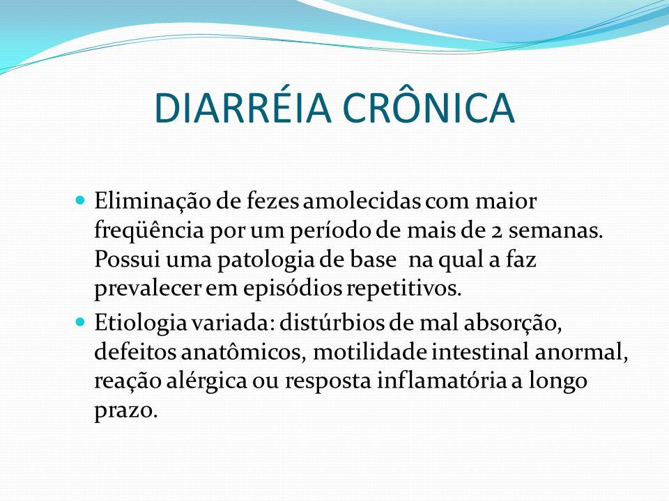 DIARRÉIA CRÔNICA