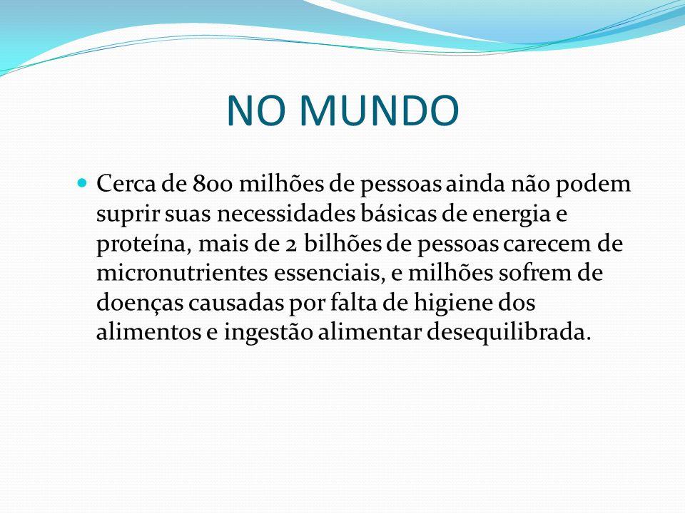 NO MUNDO