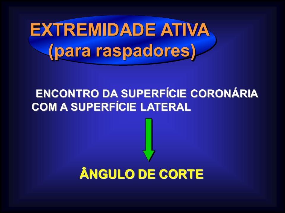 EXTREMIDADE ATIVA (para raspadores)