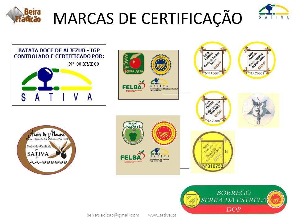BATATA DOCE DE ALJEZUR - IGP CONTROLADO E CERTIFICADO POR: