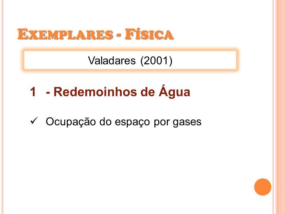 Exemplares - Física - Redemoinhos de Água Valadares (2001)