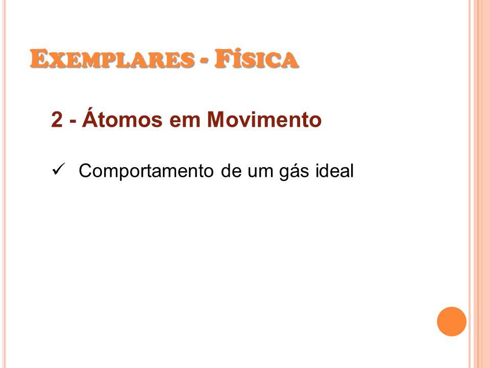 Exemplares - Física 2 - Átomos em Movimento