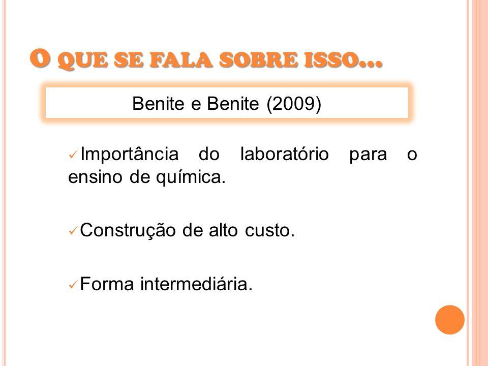 O que se fala sobre isso... Benite e Benite (2009)