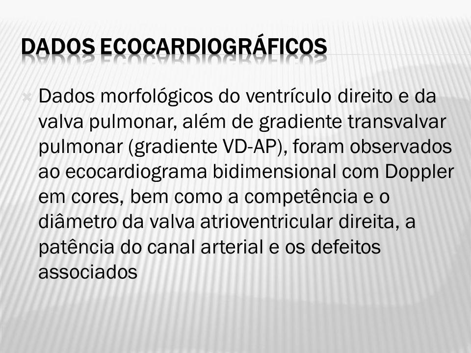 Dados ecocardiográficos