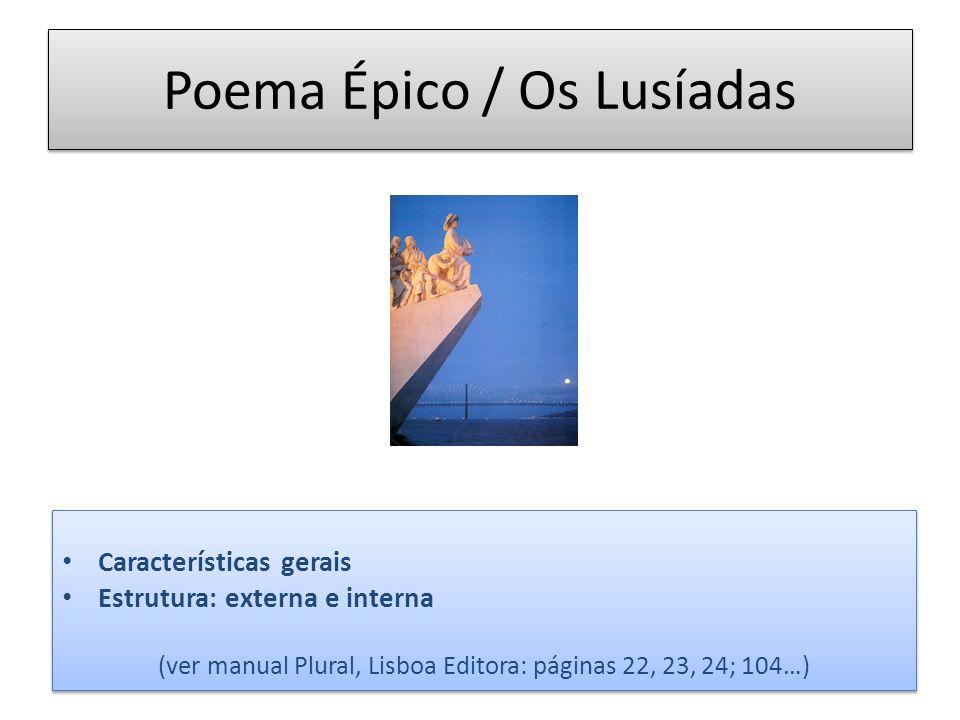 Poema Épico / Os Lusíadas