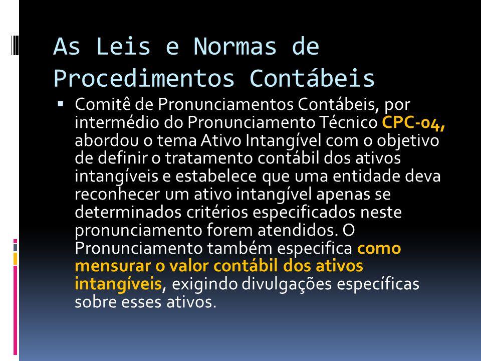 As Leis e Normas de Procedimentos Contábeis