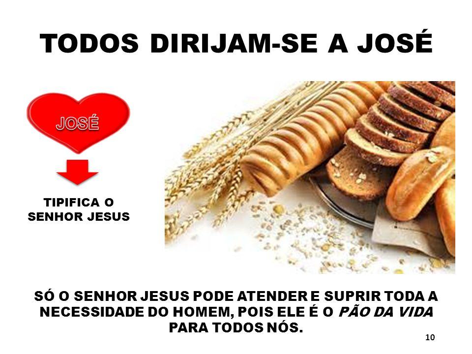 TODOS DIRIJAM-SE A JOSÉ