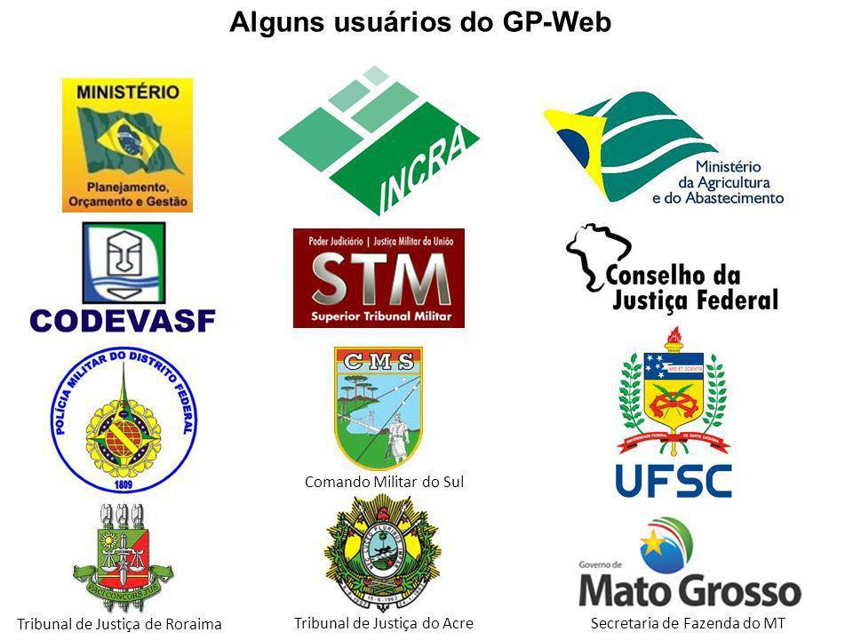 Alguns usuários do GP-Web