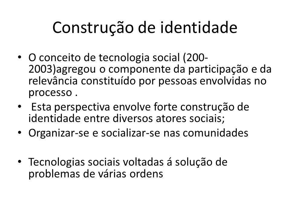 Construção de identidade