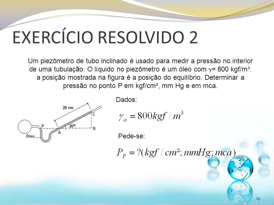 EXERCÍCIO RESOLVIDO 2