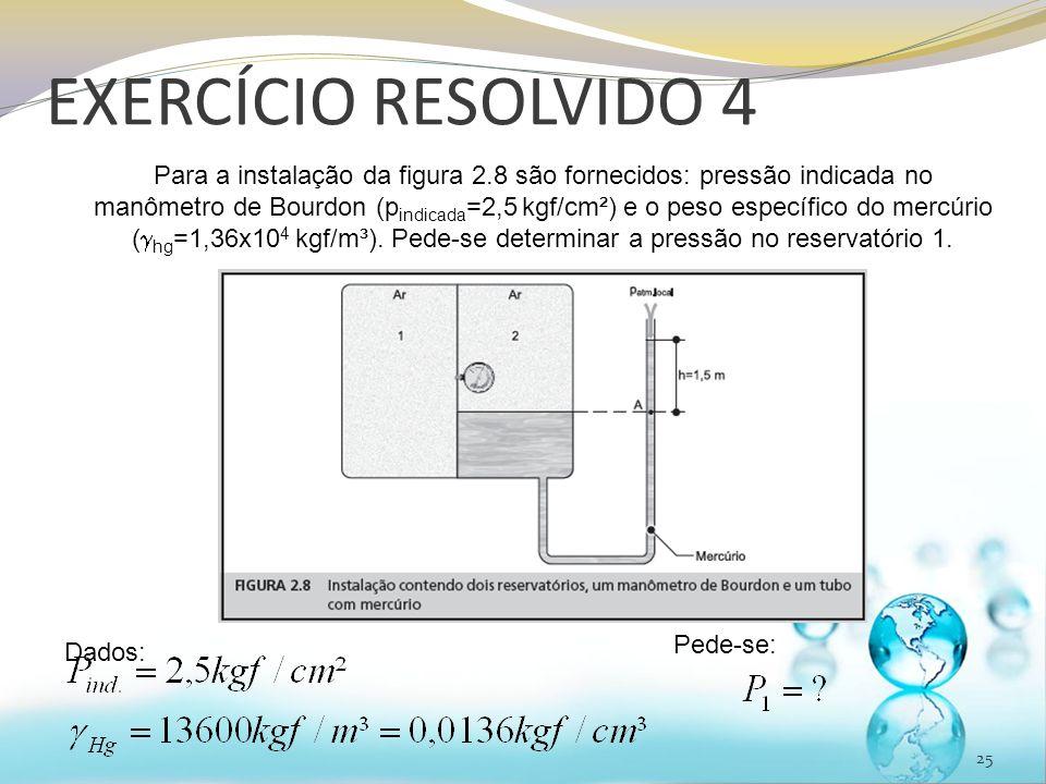 EXERCÍCIO RESOLVIDO 4