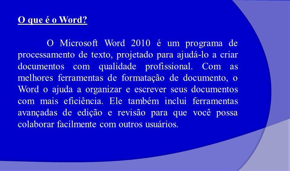 O que é o Word