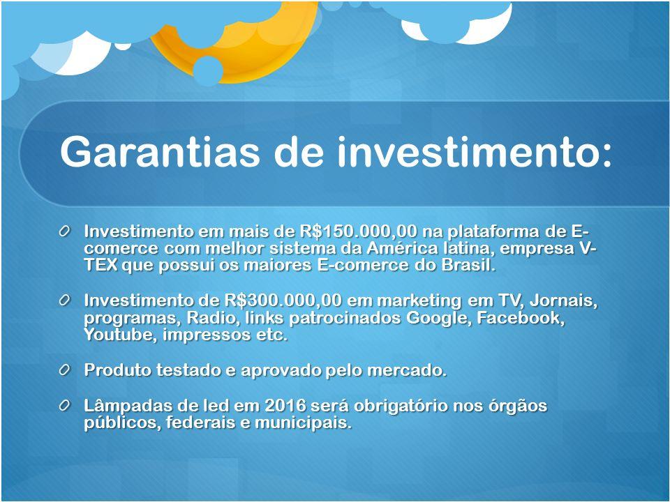 Garantias de investimento: