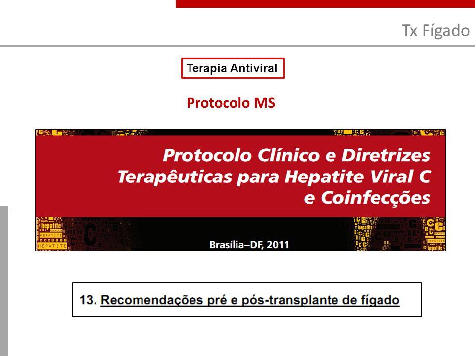 Tx Fígado Terapia Antiviral Protocolo MS 13