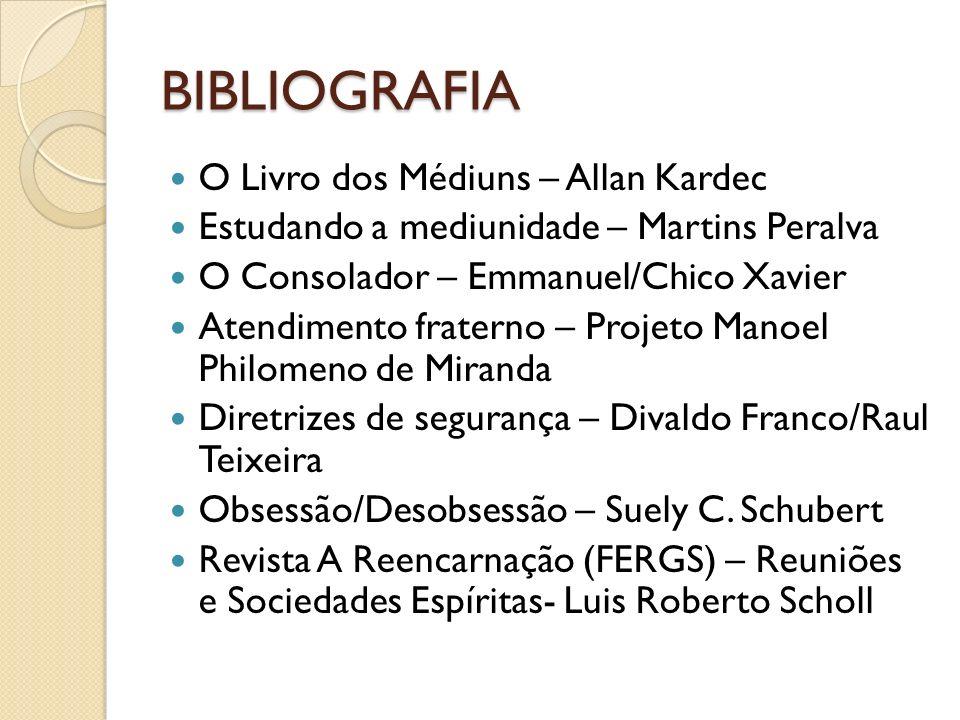 BIBLIOGRAFIA O Livro dos Médiuns – Allan Kardec