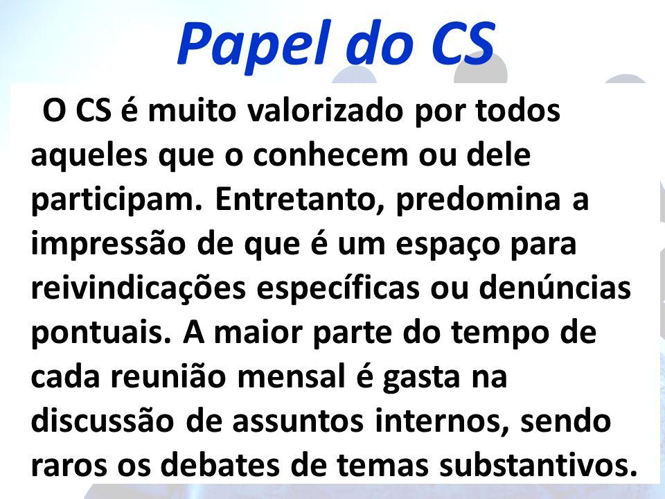 Papel do CS