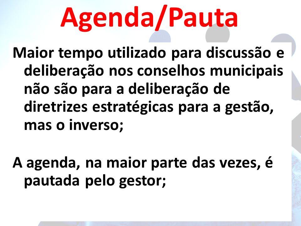 Agenda/Pauta
