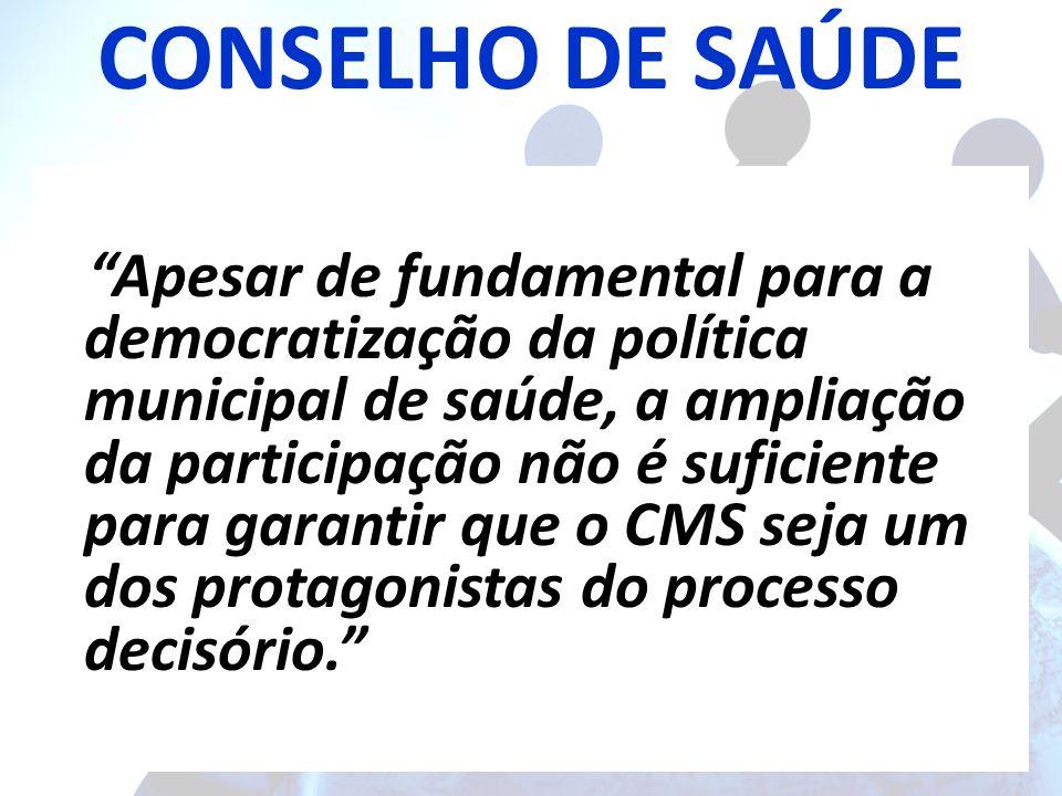 CONSELHO DE SAÚDE