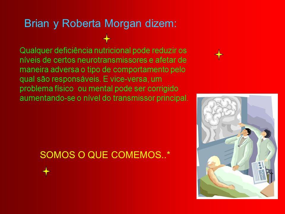 Brian y Roberta Morgan dizem: