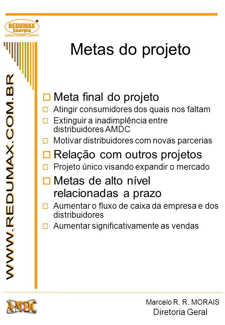 Metas do projeto Meta final do projeto Relação com outros projetos