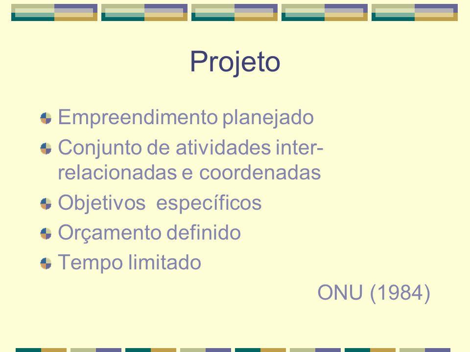 Projeto Empreendimento planejado