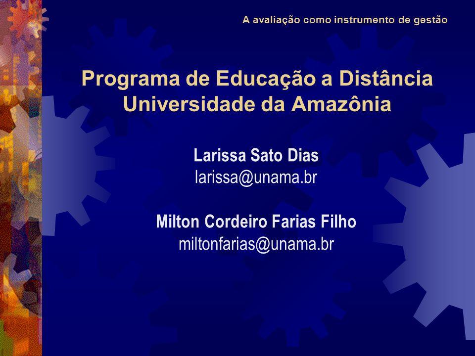 Programa de Educação a Distância Universidade da Amazônia