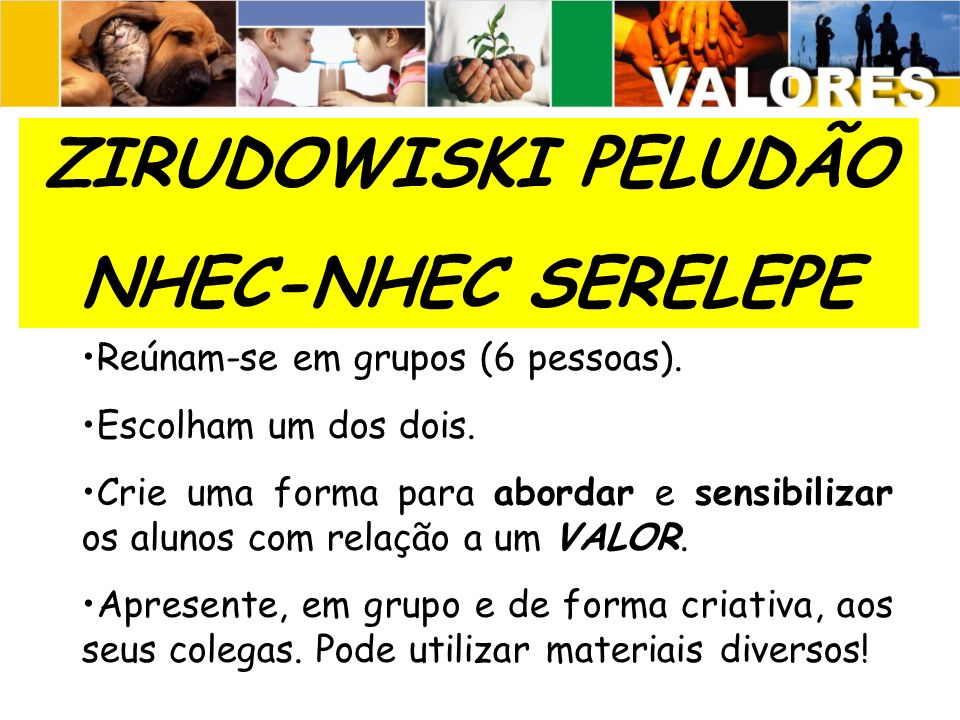 ZIRUDOWISKI PELUDÃO NHEC-NHEC SERELEPE