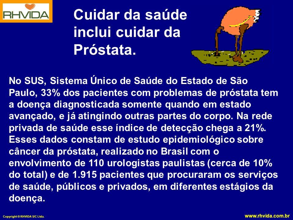 Cuidar da saúde inclui cuidar da Próstata.