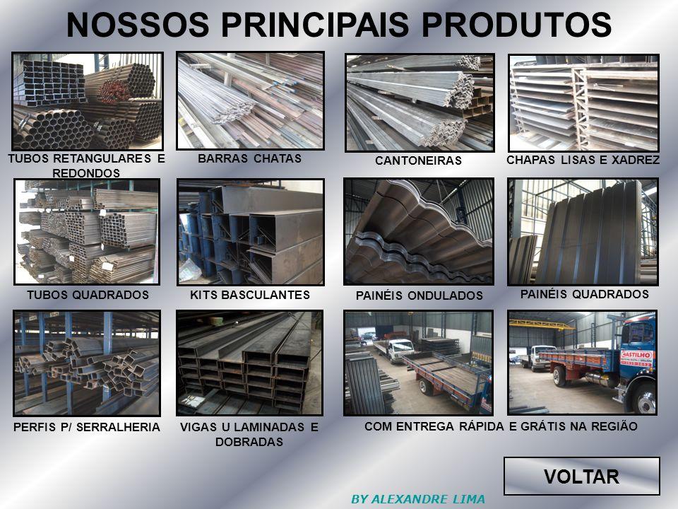 NOSSOS PRINCIPAIS PRODUTOS
