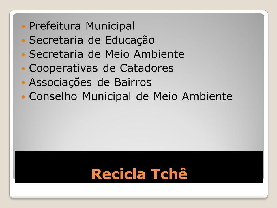 Recicla Tchê Prefeitura Municipal Secretaria de Educação