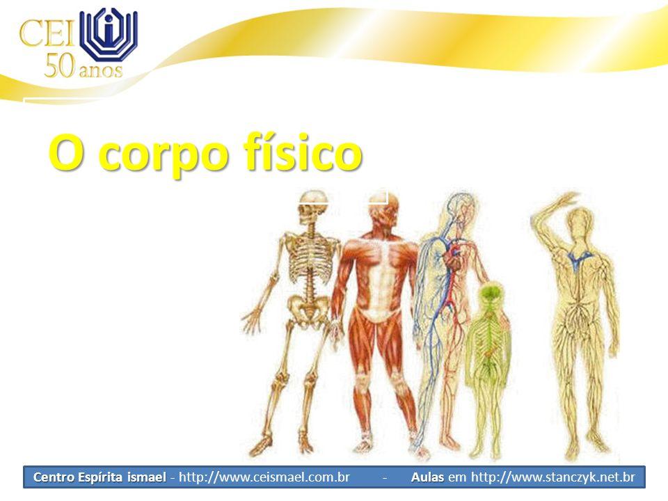 O corpo físico Centro Espírita ismael - http://www.ceismael.com.br - Aulas em http://www.stanczyk.net.br.