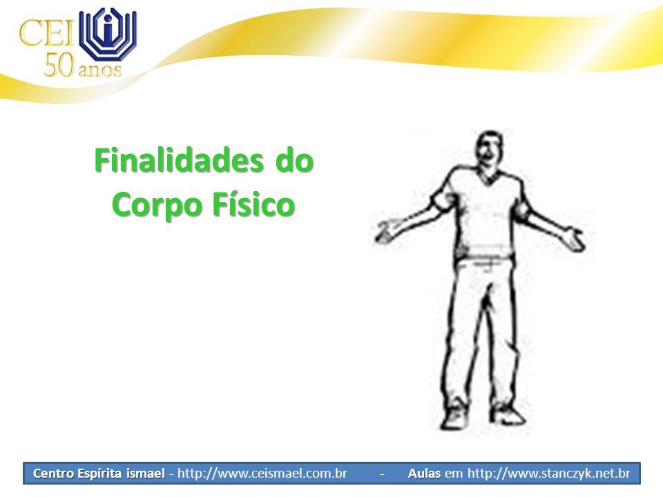 Finalidades do Corpo Físico