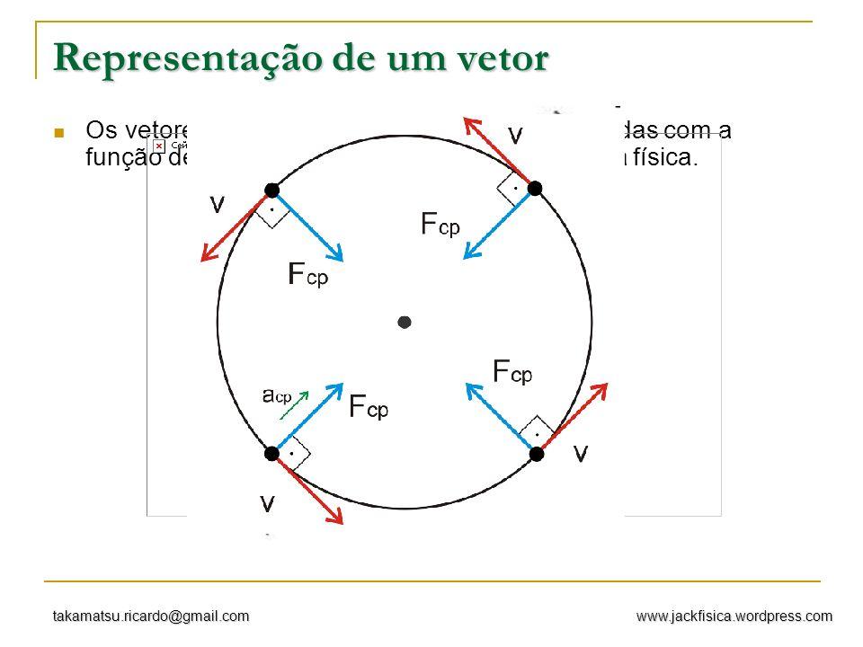 Representação de um vetor