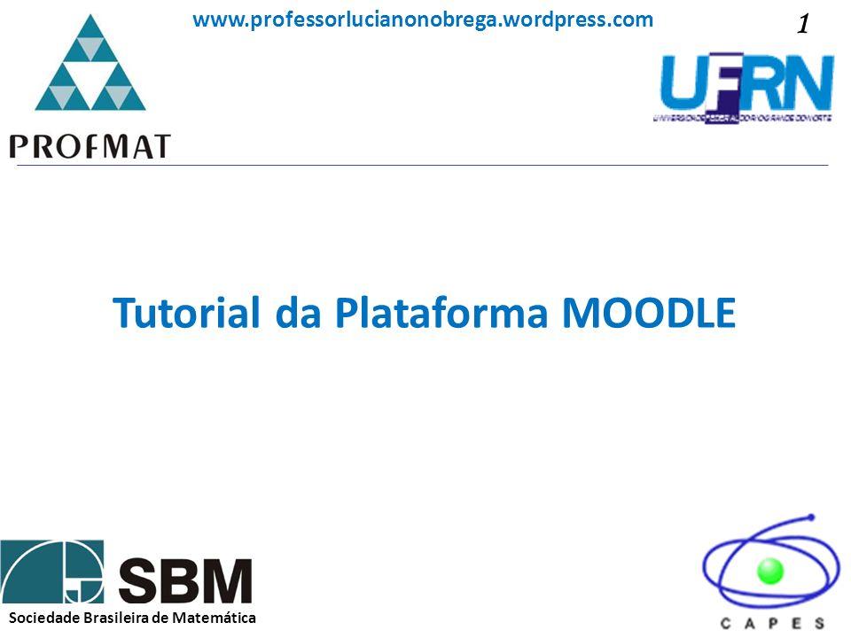 Tutorial da Plataforma MOODLE