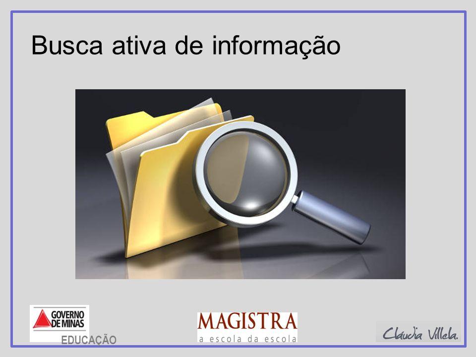 Busca ativa de informação