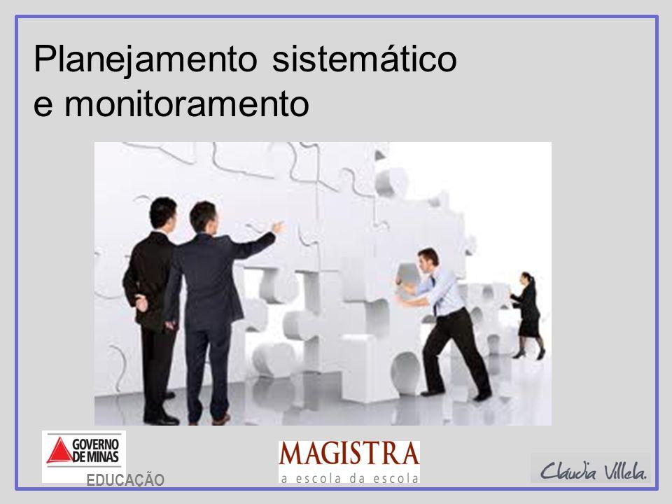 Planejamento sistemático e monitoramento