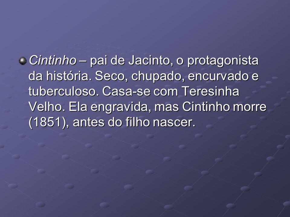 Cintinho – pai de Jacinto, o protagonista da história