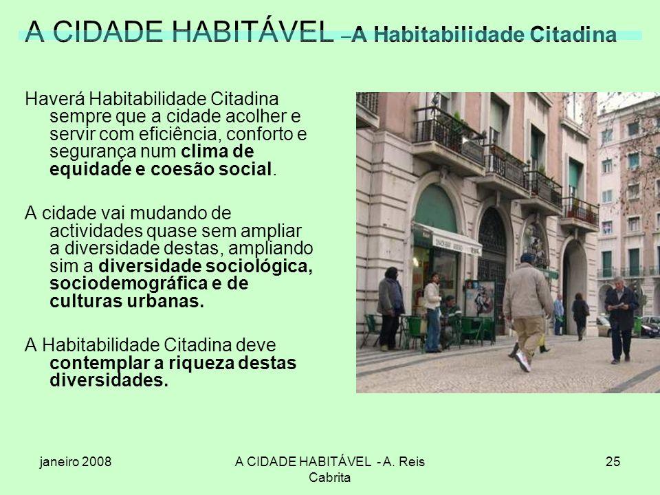 A CIDADE HABITÁVEL –A Habitabilidade Citadina