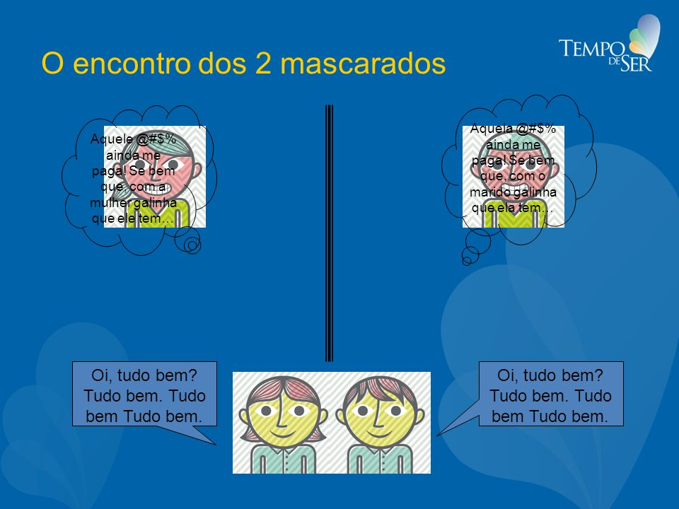 O encontro dos 2 mascarados