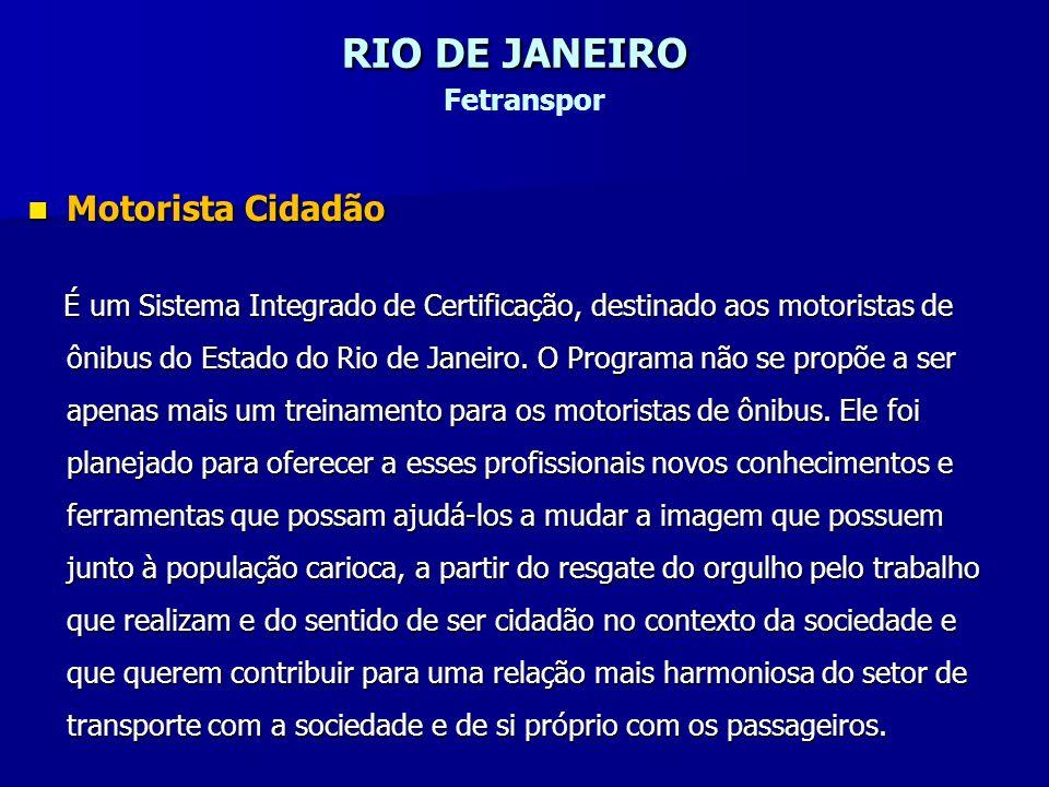 RIO DE JANEIRO Fetranspor
