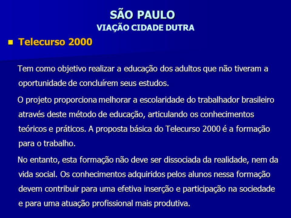 SÃO PAULO VIAÇÃO CIDADE DUTRA