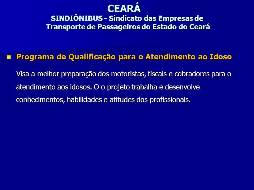 CEARÁ SINDIÔNIBUS - Sindicato das Empresas de Transporte de Passageiros do Estado do Ceará
