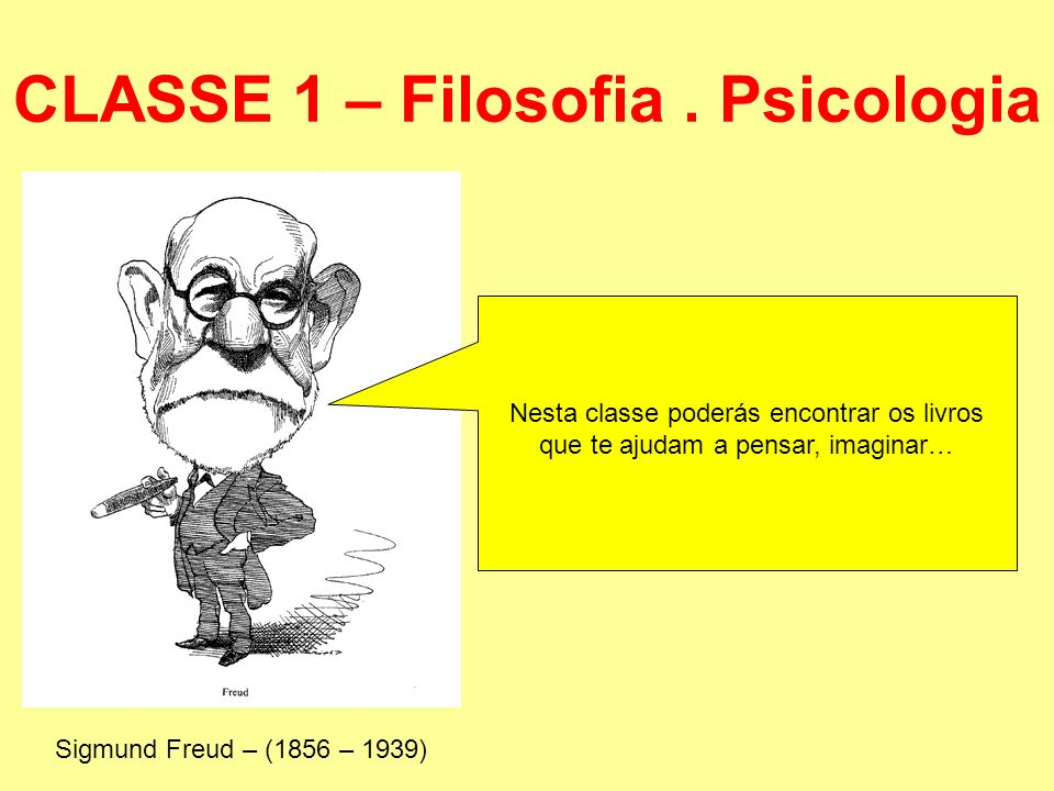 CLASSE 1 – Filosofia . Psicologia