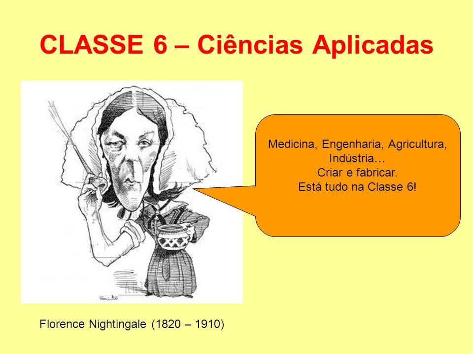 CLASSE 6 – Ciências Aplicadas