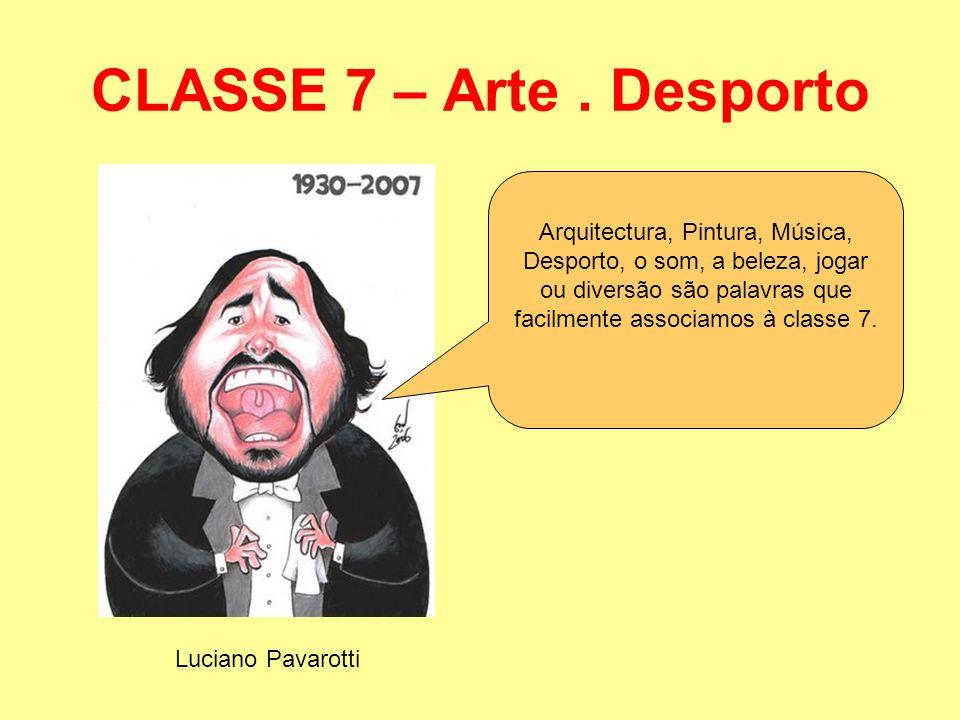 CLASSE 7 – Arte . Desporto