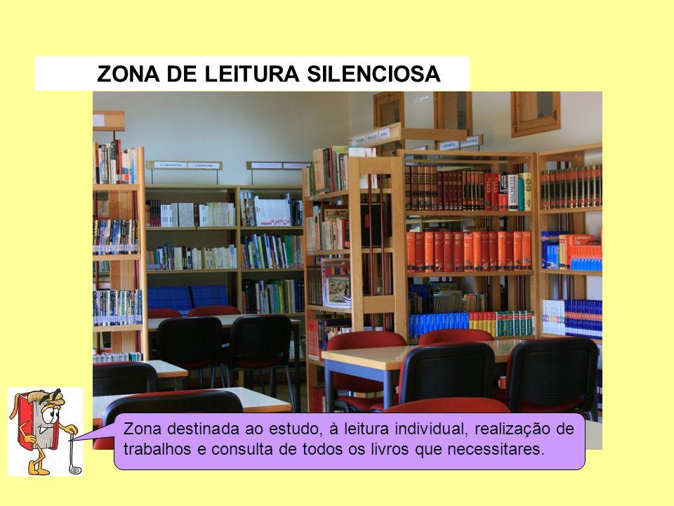 ZONA DE LEITURA SILENCIOSA