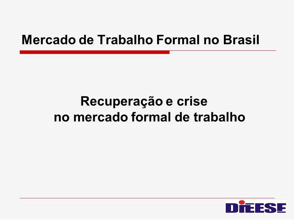 Mercado de Trabalho Formal no Brasil